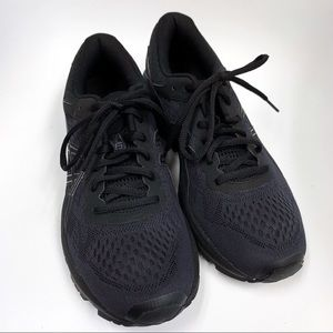 ASICS MENS black sneakers 9.5 new without box